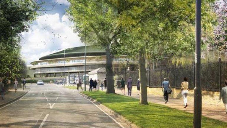 На Уимбълдън се надяват, че модернизацията, която трябва да завърши до 2019 г., ще позволи да се играе до 23:00 ч. без опасения от липса на достатъчно светлина.