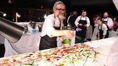 Той е признат за кулинар и преоткрива националните ястия на Италия