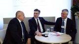 """От българска страна в панела """"Дипломатически диалог на Западните Балкани"""" на форума в Давос участваха премиерът Борисов и Тихомир Каменов - основател и председател на фирмената група на Търговска Лига"""