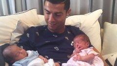 Кристиано призна, че са му се родили близнаци, две момчета.