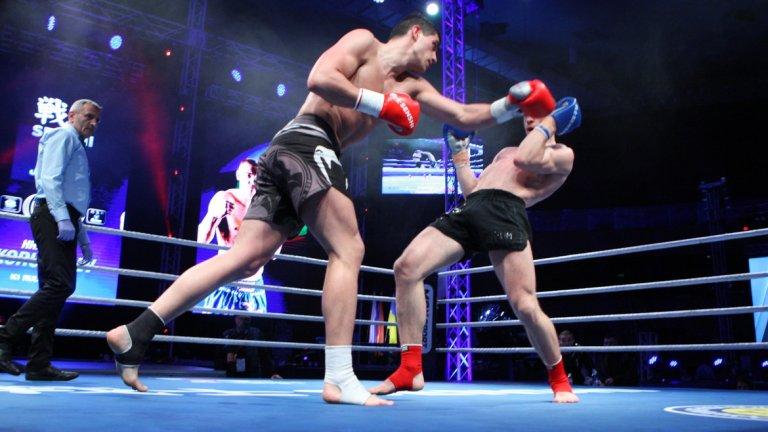 В мач по правилата KWU Full Contact Християн Корунчев разби сърбина Любо Ялови