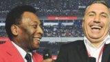 Стоичков комбинира загубата на ЦСКА и юбилея на Пеле