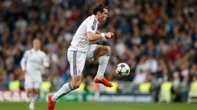Гарет Бейл – 21 милиона лири Уелската звезда на Реал тепърва ще напредва в тази класация. Тотнъм вкара Бейл в лигата на скъпоплатените футболисти, Реал го изстреля към челото.