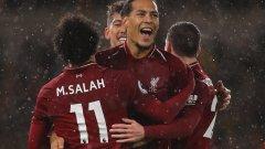 Салах и Ван Дайк осигуриха победата, а Ливърпул си гарантира първото място и след този кръг