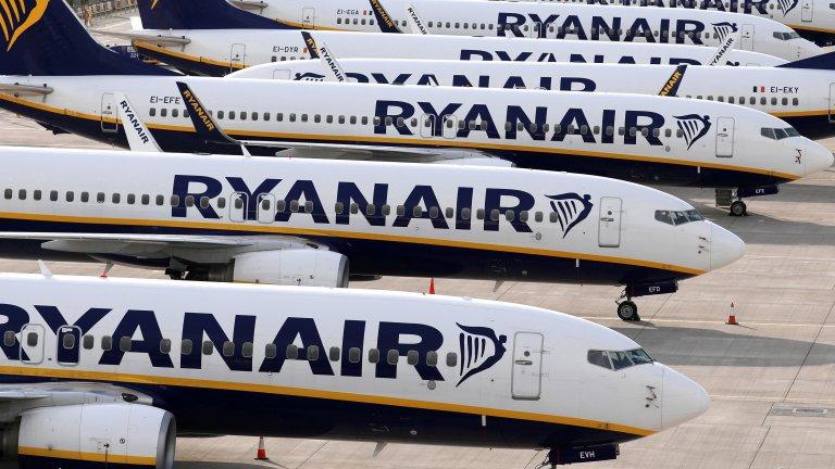 RyanAir ще съди британското правителство
