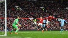 """Последното дерби на Манчестър завърши с победа за Юнайтед с 4:2. Отново на """"Олд Трафорд"""". Сити обаче едва ли ще се даде толкова лесно този път..."""