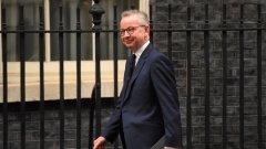 """Решението на Даунинг Стрийт е взето въпреки призивите на първите министри на Шотландия и Уелс. Освен това според вицепремиера Майкъл Гоув (на снимката) """"моментът да се поиска удължаване е отминал""""."""