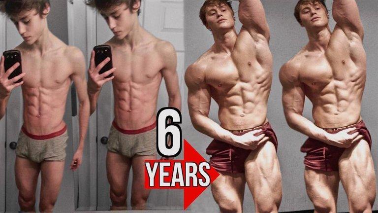 Трансформацията на Дейвид е наистина забележителна.