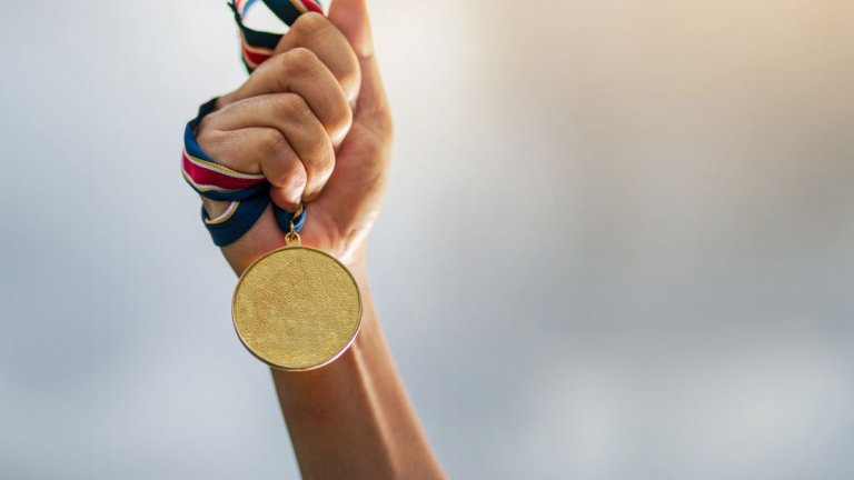 До почетната стълбица се стига не само с талант, но и благодарение на много труд, упоритост и подкрепа