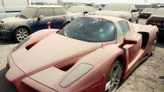 Дубай се прочу с изоставените по пътищата и на летището суперлуксозни возила