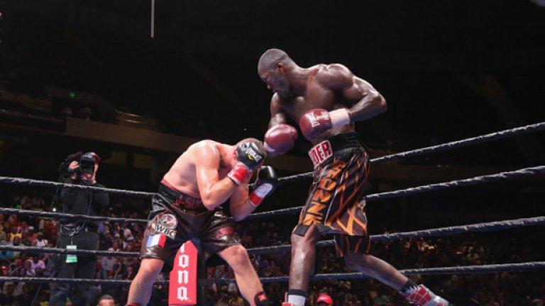 Дионтей Уайлдър грабна пояса в WBC през януари и е голямата американска надежда при най-тежките.