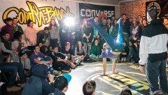 Танцьорите премериха сили буквално на сантиметри от публиката, която изпълни халетата на Fabrica 126