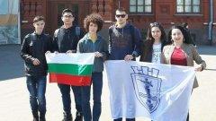 """Възпитаници на математическата гимназия """"Баба Тонка"""" в гр. Русе грабнаха 6 от общо 9 златни медала на международният конкурс """"Математика и проектиране""""в началото на май"""