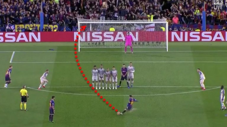 В последните 10 сезона никой от топ първенствата на Европа не е вкарал повече преки свободни удари от Меси. Геният навъртя 31 попадения от фаул, а на второ място е Кристиано Роналдо с 24 - всички те с екипа на Реал Мадрид