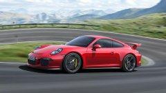 Новият GT3 става първото Porsche с управляеми задни колела