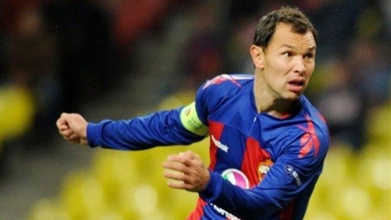 Сергей Игнашевич (Русия). Игра във всички мачове на ЦСКА Москва през миналия сезон и е най-резултатният бранител в историята на руската лига.