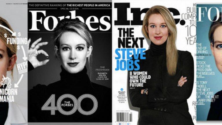 """Русата млада дама със сини очи краси кориците на """"Forbes"""", """"Fortune"""", а """"Time"""" я слага в листата на най-влиятелните хора в света.  Много хубаво обаче не е на хубаво."""