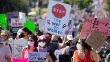 Причината за масовото недоволство е влезлият в сила закон срещу абортите в Тексас