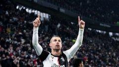 Кристиано вече има 16 гола в Калчото и е единственият играч, който бележи 15 или повече в 14 поредни сезона в първенствата от Топ 5 в Европа.