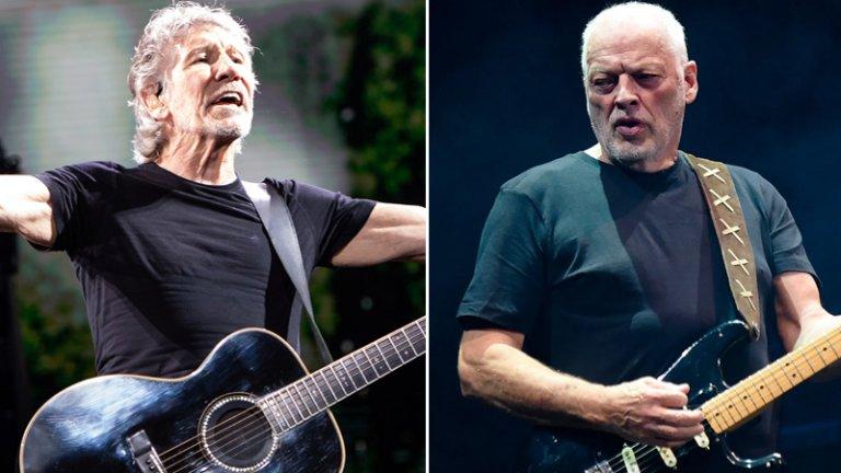 Роджър Уотърс и Дейвид Гилмор  Ненадминатите Pink Floyd са изживели невероятни перипетии в дългата си и неравна история към величието, като и те си имат своята велика вражда. Творческите лидери от златния период на групата Дейвид Гилмор и Роджър Уотърс се намразиха неистово към края на 70-те, когато излезе и епохалният албум The Wall, написан от Уотърс. Басистът напусна Floyd официално през 1985 г. и започна дълги съдебни дела, разгневен, че бандата продължава дейността си без него. В последните няколко години преди тази раздяла, взаимоотношенията във Floyd били съсипани, а специално враждата Уотърс-Гилмор продължи още двайсетина години след това.   Творческите и личностни различия между китариста и басиста изглежда са били нерешими, но все пак те заровиха томахавките за едно финално шоу на великия състав на Floyd заедно с Ник Мейсън и Рик Райт на концерта Live8 през 2005 г. Оттогава Уотърс и Гилмор още два пъти споделиха една сцена и безспорно подобриха взаимоотношенията си, но Pink Floyd вече преустанови активност и пълноценното им време заедно явно си остава в миналото.