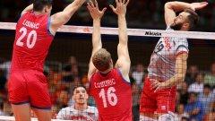 Нашите са в една група с европейския шампион Сърбия.