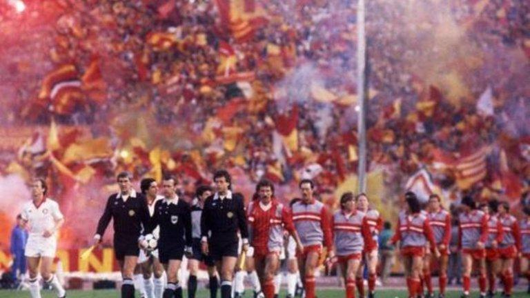 Манията по Ливърпул у нас се изостри още повече през 1984 г., когато тимът се класира на финал за КЕШ срещу Рома в бърлогата на звяра...