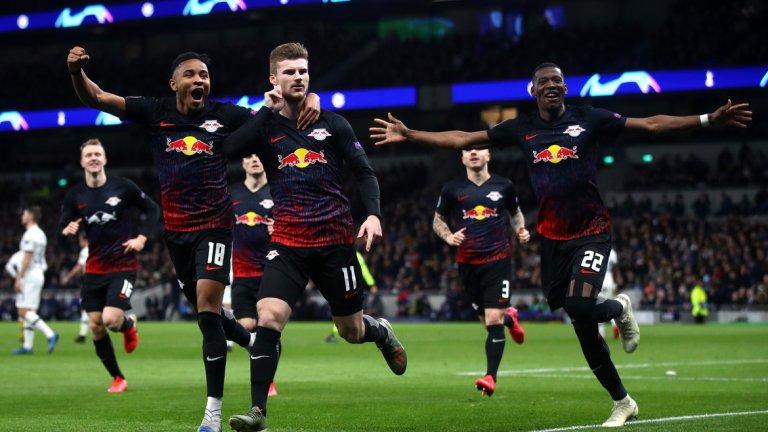 Също като Байерн, Лайпциг си тръгна с победа от Лондон в Шампионската лига. Онова 1:0 над Тотнъм миналата седмица можеше и да е много по-изразително, ако не бяха пропуските на гостите