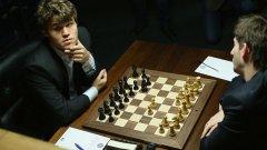 Магнус Карлсен става гросмайстор на 13 години, 4 месеца и 27 дни