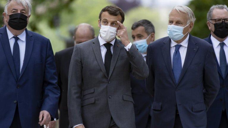 Националите такъв пердах отнесоха от Франция, все едно ние сме виновни за шамара по Макрон