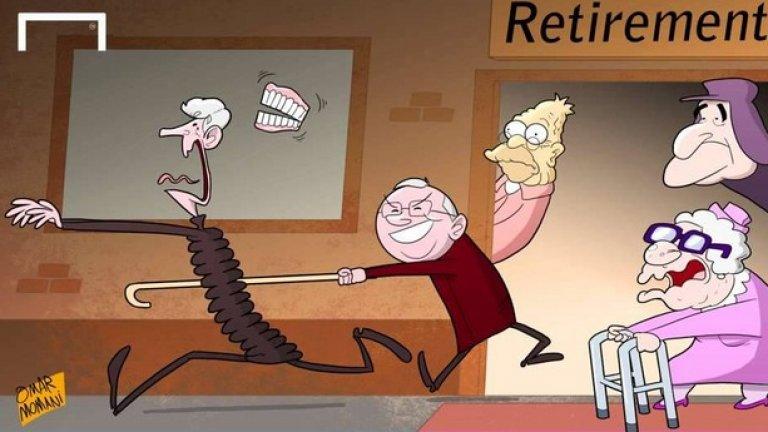 Венгер каза, че се страхува от времето, в което ще трябва да се пенсионира