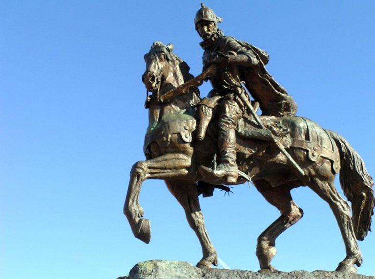 Паметникът на Хуан де Оняте и Салазар в Ню Мексико