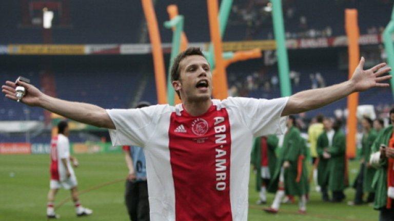 Джон Хейтинга. Отбор: Аякс, Рейтинг: 9/10, пенсиониран. Комплексен футболист, който през 2008-а напусна Амстердам и бе част от Атлетико Мадрид, Евертън и Херта Берлин.