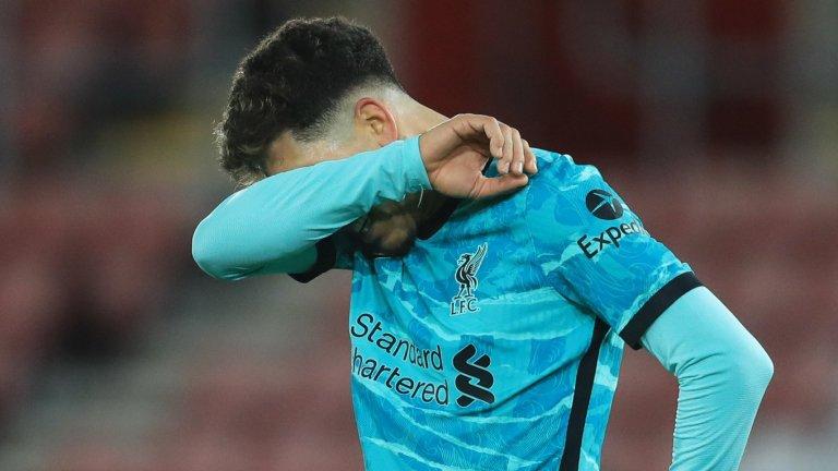 Ливърпул взе само две точки от последните си три мача във Висшата лига, в които успя да се разпише само веднъж