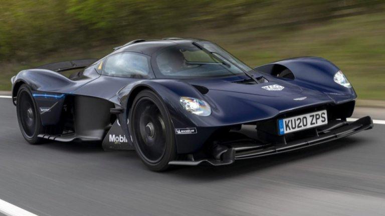 Aston Martin ValkyrieНовата серия на Valkyrie обещава да е кола от Формула 1, която обаче с повече късмет (всъщност, с адски много късмет) ще можете да видите и по обикновените пътища. Идва с 12-цилиндров двигател, купе с тегло много малко над един тон и скоростомер, разграфен до 400 км/ч. През 2021 г. със сигурност ще видим Valkyrie на Льо Ман.
