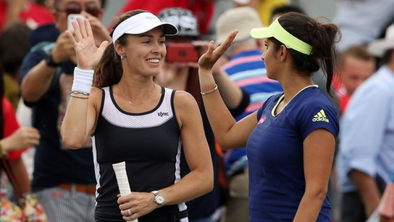 12. Мартина Хингис – най-популярната тенисистка на двойки, Хингис се завърна и на сингъл на Фд Къп.
