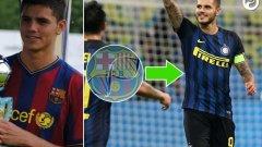 1. Мауро Икарди В Барселона:  2008-2011 Настоящ отбор:  Интер