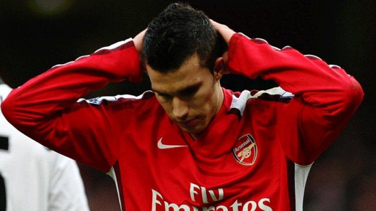 Бъдещето на Ван Перси в Арсенал изглежда повече от несигурно