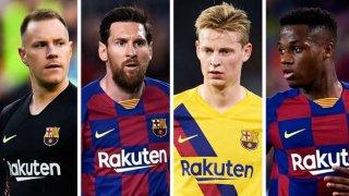 Много малко от звездите на Барселона могат да бъдат сигурни за бъдещето си.