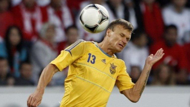 Вячеслав Шевчук (Украйна). Дори и на 37 години левият бек на Шахтьор Донецк е основна фигура в националния отбор и бе на терена от първата до последната минута в европейските квалификации.