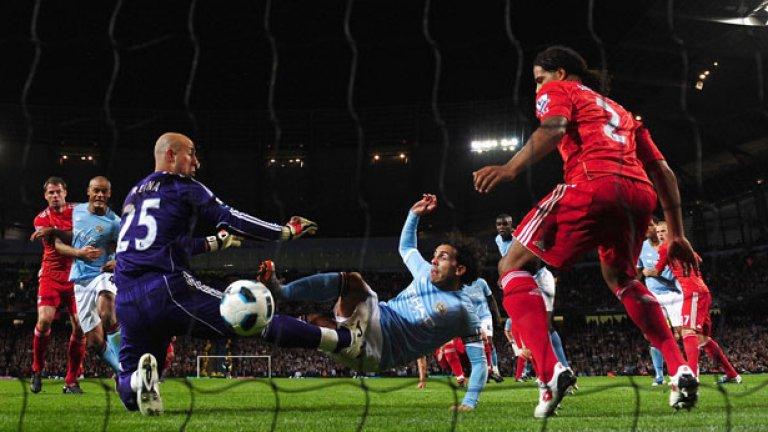 Ливърпул и Манчестър Сити често са поднасяли вълнуващи спектакли, когато се изправят един срещу друг