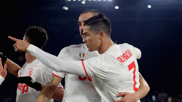Кристиано Роналдо, който през февруари ще навърши 35 години, има 16 гола за Ювентус на сметката си през този сезон във всички турнири