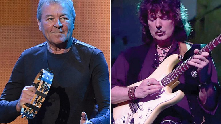 Иън Гилън и Ричи Блекмор  В доста от продължаващите с десетилетия вражди в рока беше постигнато някакво помирение през последните години. В случая на Deep Purple, вечният конфликт между китарния виртуоз Блекмор и емблематичния вокалист Гилън едва ли някога ще бъде напълно изгладен. Гилън напусна бандата през 1973 г., а 20 г. по-късно ролите бяха разменени и Блекмор напусна, този път окончателно, докато Гилън и до днес предвожда Purple.   Взаимната непоносимост между Гилън и Блекмор съсипва атмосферата в бандата през няколко периода от нейното съществуване, но не пречи на двамата заедно да създадат незабравима музика. През 2016-а Deep Purple бяха приети в Залата на славата, но отказаха да свирят заедно с Блекмор и затова той изобщо не посети церемонията. Все пак оттогава Гилън е признавал, че с китариста са пооправили отношенията си и даже си общуват, макар да нямат планове да свирят заедно.