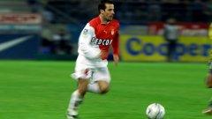 Преди 15 години Жули беше неотразим с екипа на Монако.