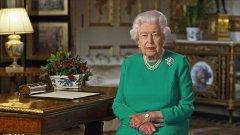 Обръщението на британската кралица към поданиците не беше обичайно