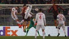 """Лион удържа на """"Олимпико"""" и отстрани Рома"""