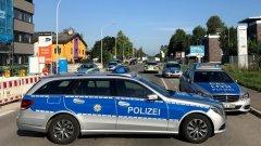 Полицията пресрещнала и ликвидирала нападателя