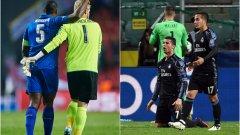 Лестър отново не допусна гол, докато Реал инкасира цели три...