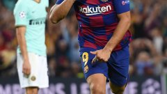 Суарес беше анонимен през първото полувреме, а играта на Барселона не вървеше. Второто полувреме обаче беше съвсем различно и нападателят се превърна в герой
