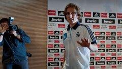 Най-логичната причина за привличането на Лука Модрич в Реал (Мадрид) засега изглежда продажбата на фланелки с неговото име