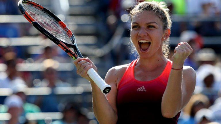 1. Симона Халеп – ето я и победителката. Халеп е най-популярната тенисистка, според данните на официалния сайт на WTA. Румънката финишира под №2 в световната ранглиста, но е победителка тук.